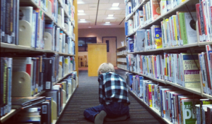 Go ahead! Let yourself get lost in the library!